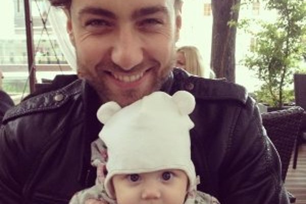 Bytrík Červený so svojou dcérou Amálkou.
