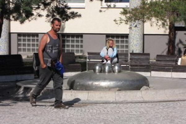 Fontána na Trojičnom námestí v Trnave.
