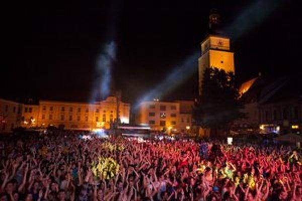 Festival Lumen prilákal tisícky mladých ľudí.