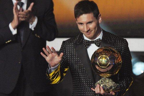 Argentínsky útočník Lionel Messi.
