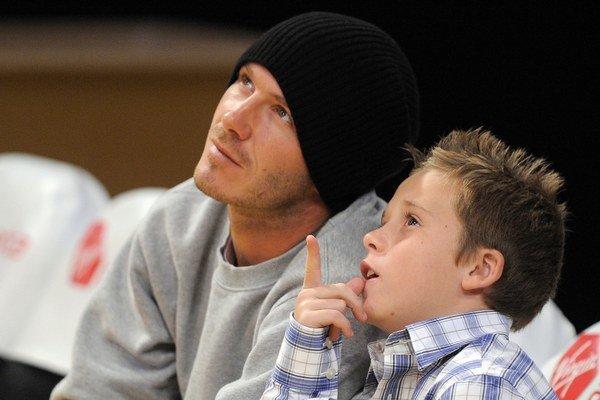David Beckham so synom Brooklynom.