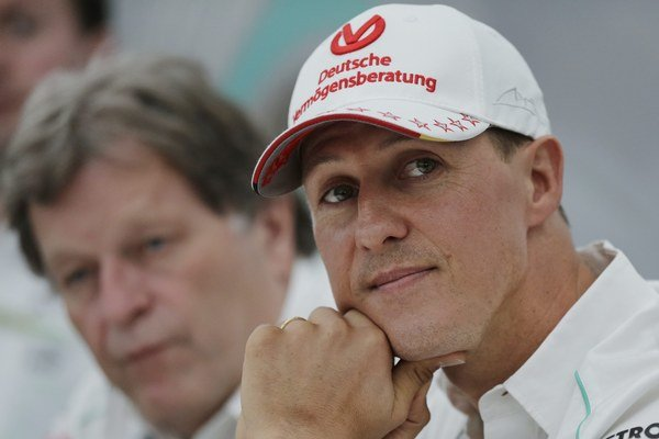 Michael Schumacher - ilustračná fotografia.