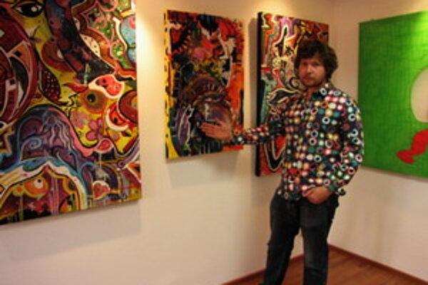 Majiteľ galérie Dušan Magula tvrdí, že mu nejde o zárobok, ale o propagáciu umenia.