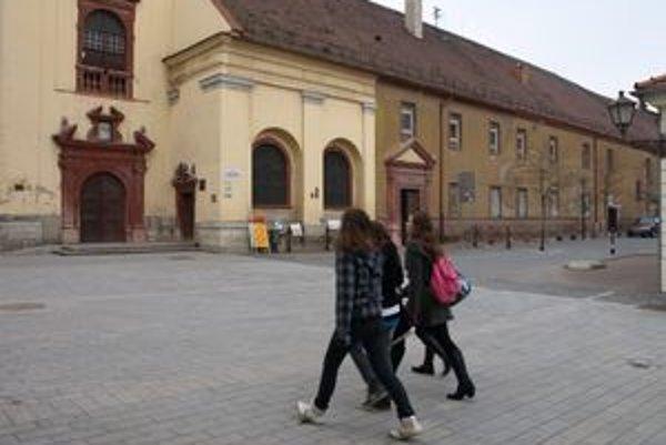 Hospic na Františkánskej sa stále rekonštruuuje, otvorenie je však v nedohľadne.