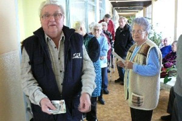 Na novú menu si už zvykli aj dôchodcovia.