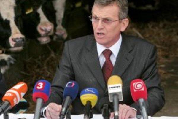Miroslav Jureňa, exminister pôdohospodárstva.