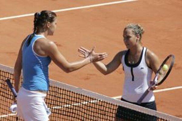 Dominika Cibulková v zápase so Safinovou nezopakovala výkon proti Šarapovovej.