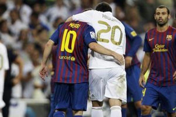 Lionel Messi a Gonzalo Higuaín.