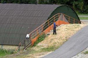 Nedostavaný areál v Osrblí.