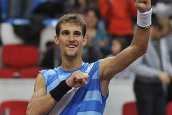 Martin Kližan po finálovom zápase Ritro Slovak Open.