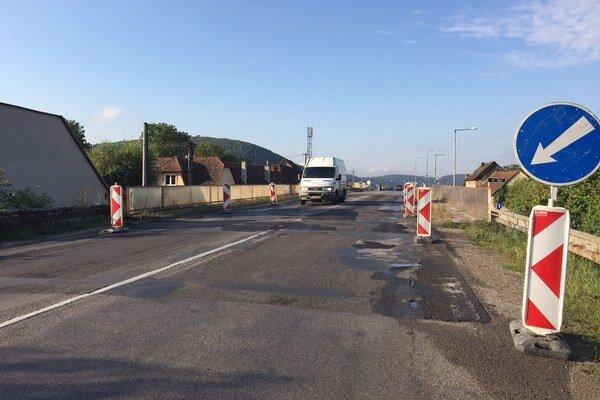 Oprava vozovky na moste začne tento mesiac.