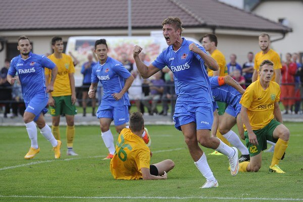 Tomáš Bagi strelil oba góly Borčíc.