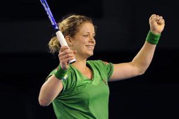 Kim Clijstersová.