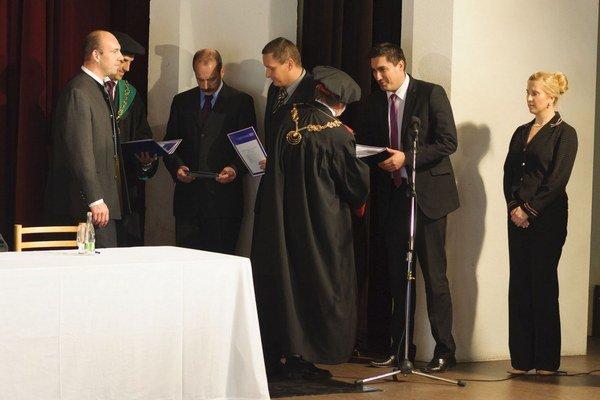 Dubnický technologický inštitút otvoril nový školský rok.
