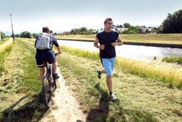 Cyklisti si môžu na vrhnúť vlastné trasy.
