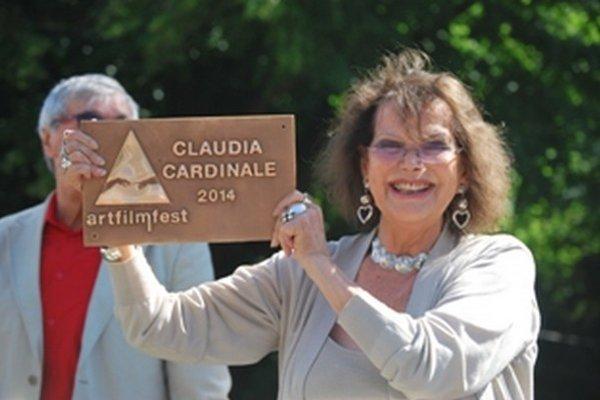 Slávna herečka Claudia Cardinale v Trenčianskych Tepliciach