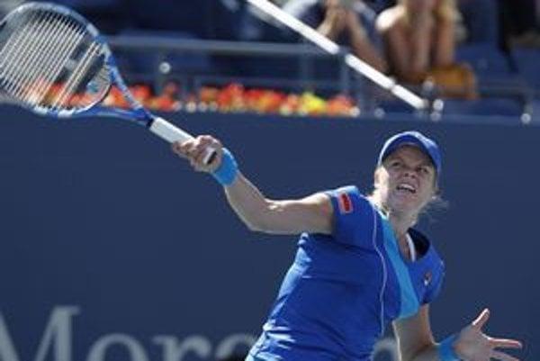 Kim Clijstersová je na US Open už medzi osmičkou najlepších.