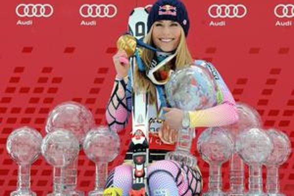 Lindsey Vonnová, lyžiarska kráľovná.