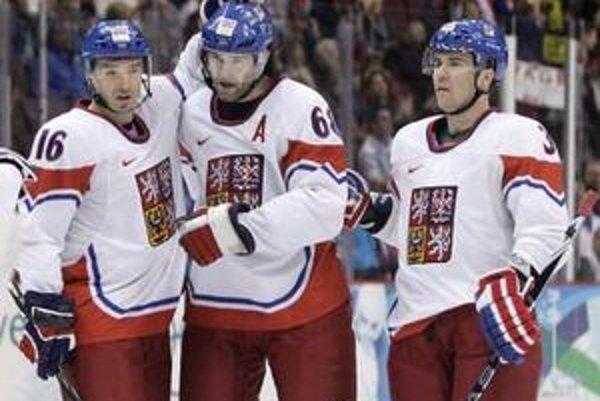 Českí hokejisti vyhrali nad Lotyšskom najmä vďaka výbornej prvej tretine.