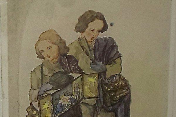 Takéto vianočné pohľadnice sa zasielali pred 100 rokmi.