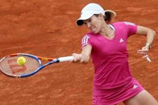 Justin Heninová vypadla na Roland Garros v osemfinále a piaty titul tak na parížskom turnaji v tomto roku nepridá.