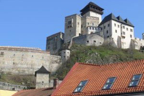 Trenčiansky hrad je najväčším lákadlom turistov v kraji.