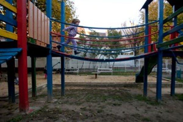 Detské ihrisko Pod Sokolicami chýba