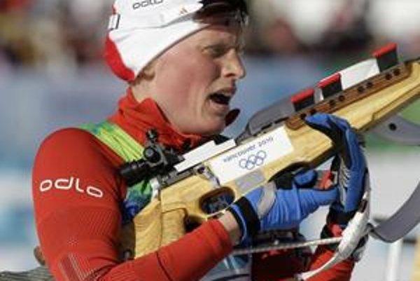 Olympijská víťazka Tora Bergerová.