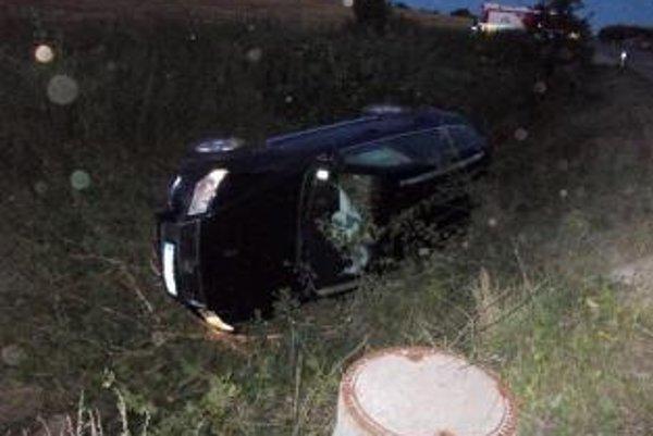 Pri nehode sa nikto nezranil