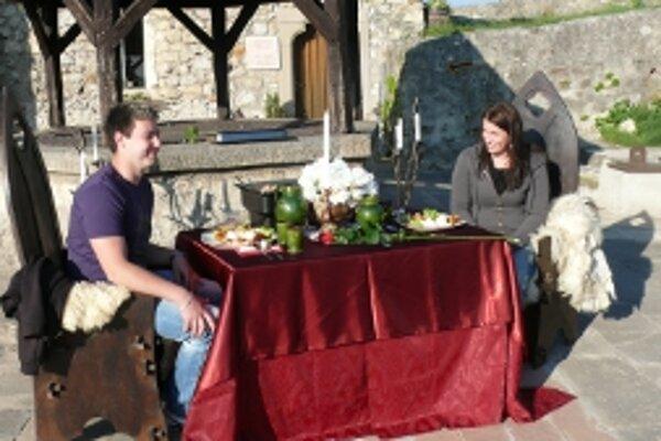 Súťaž o romantickú večeru sa konala po prvý raz vlani.