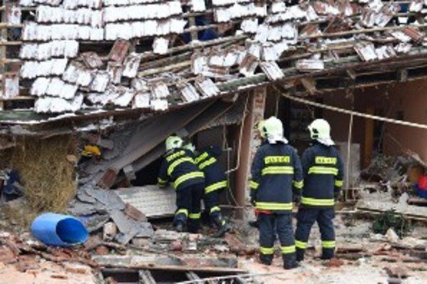 Po výbuchu plynu sa stal dom neobývateľným.
