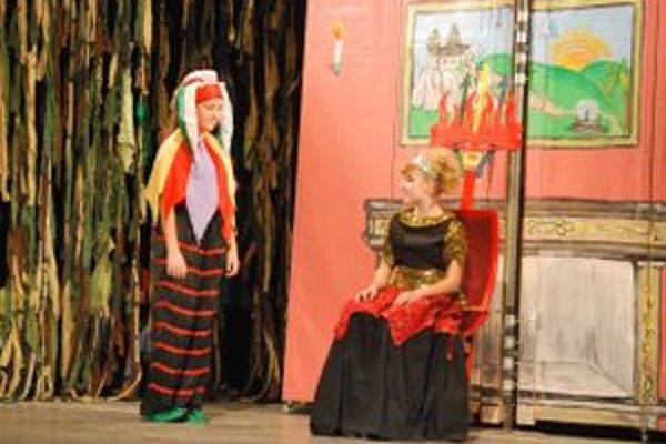 Hlavné postavy rozprávky: Gašparko a princezná Zlostnica