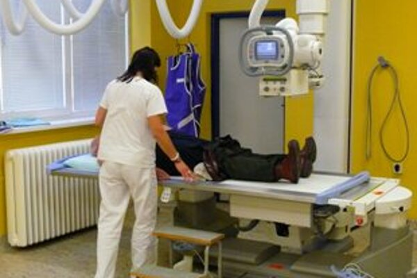 Nemocnica zakúpila aj digitálny röntgen.