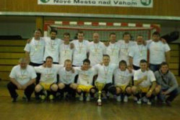 Dubnickí futsalisti vyhrali Openligu.