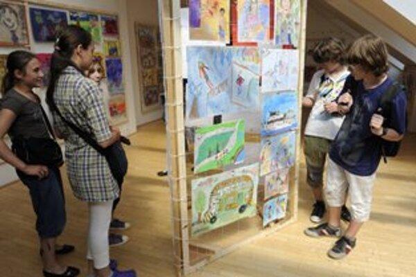 Výstava najlepších detských prác je v Galérii Miloša Alexandra Bazovského do 3. júla.