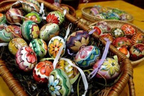 Vajíčko ako symbol sily a večného kolobehu života malo zabezpečiť zdravie po celý rok