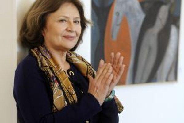 Emília Vášáryová získala Jubilejný desiaty Kvet Tálie.