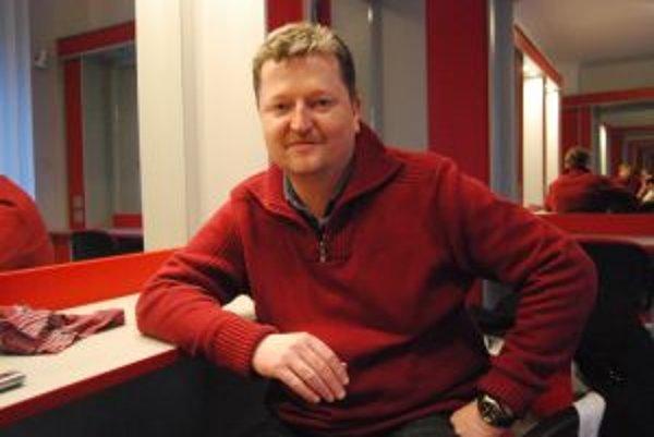 Peter Sklár patrí k najobľúbenejším slovenským hercom súčasnosti