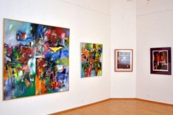 Marián Komáček vystavuje v trenčianskej galérii výber z tvorby.