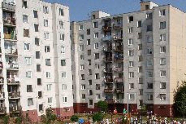 Svetlá na Sihoti podľa majiteľov bytov nesvietia