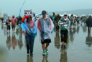 Festival ukončila silná búrka, ktorá zhodila aj stan.