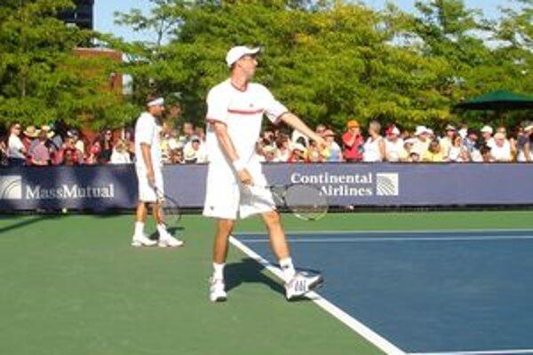 Igor Zelenay, jediný Novomešťan, ktorý štartoval na tohtoročnom US Open.