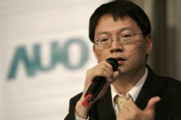 Prezident spoločnosti AU Optronics L.J. Chen.