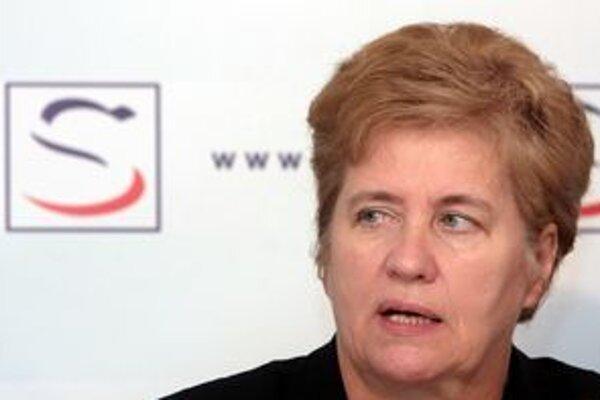 Europoslankyňa Irena Belohorská.