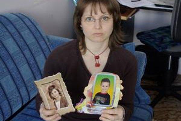 Matka oboch detí Daniela Hammoudová.