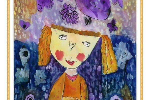 Alexandra Balogová z Vtáčkoviec si vybrala príbeh od Mileny Hübschmannovej.