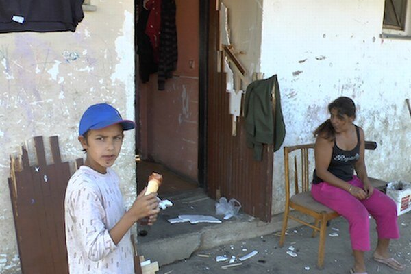 Osada Budulovská v Moldave nad Bodvou po júnovej razii policajtov.