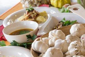 Zemiaková polievka a džatky
