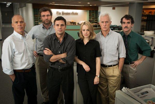 Novinári z filmu Spotlight.