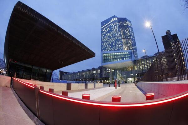 Budova Európskej centrálnej banky